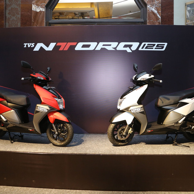 TVS NTorq Launch
