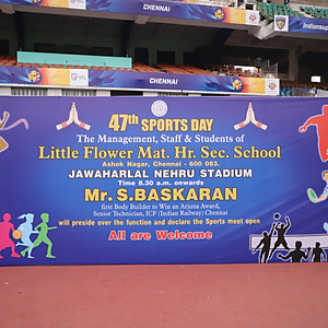 LFS-Nehru Stadium Set-up
