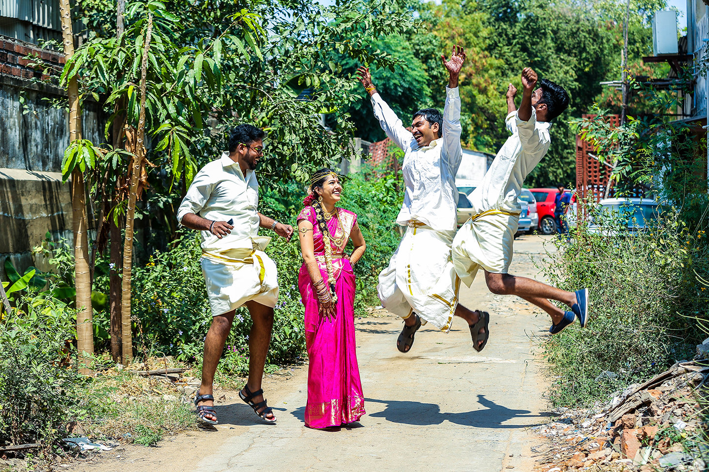 CANDID PHOTOGRAPHY @ ADDITIONAL CHARGES