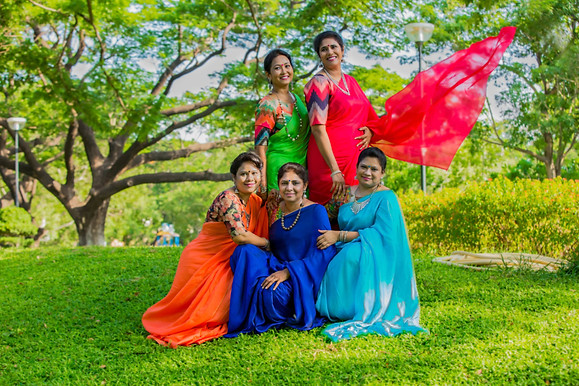 Chennai friends re-union outdoor photography