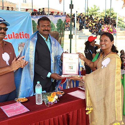 LFS-Sports Felicitation to Chief Guest