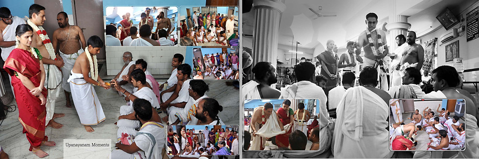 brahmin upanayanam photography in chennai