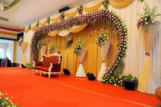 chennai wedding stage designers