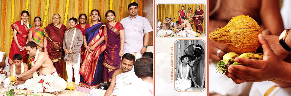 brahmin upanayanam photographers in chennai