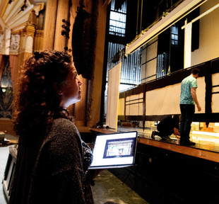 Overseeing Load-In for 'Madama Butterfly' at Inland Northwest Opera