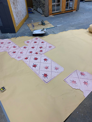 Tarot Card Drop in Process