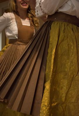 H+G children pleated skirts