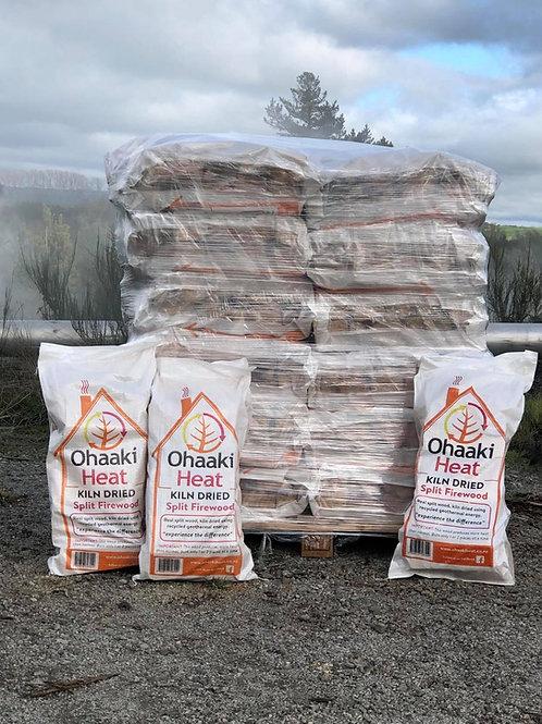 36 x Bags Kiln Dried, Split Firewood- Delivered Via PBT