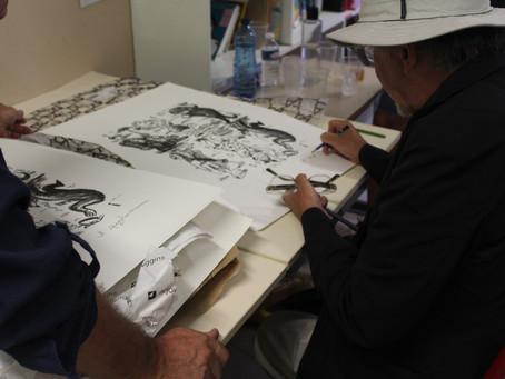 Expo événement: La bande dessinée et la lithographie
