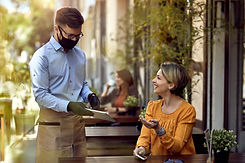 woman-restaurant-cafe-outdoor-waiter-fac