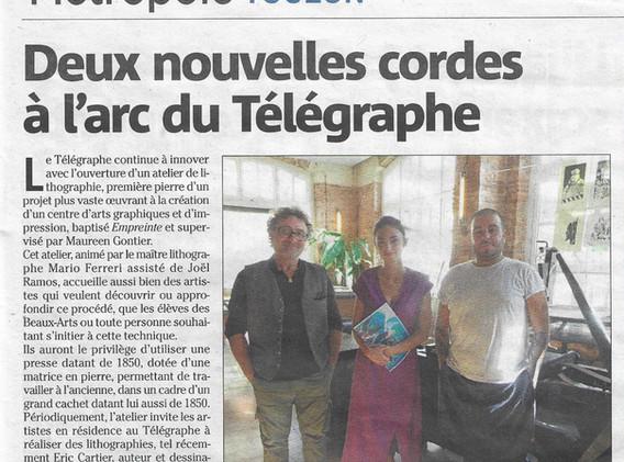 Installation au Télégraphe à Toulon