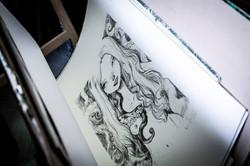 Lithography Tony Sandoval