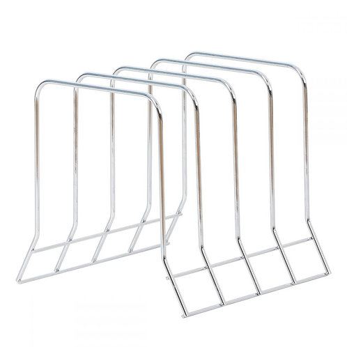 Chrome Organizer Rack