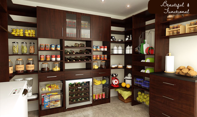 A pantry that works