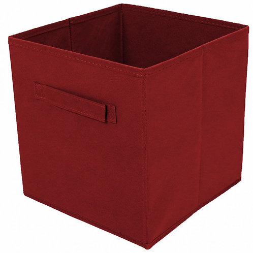 Foldable Fabric Drawer (Red)