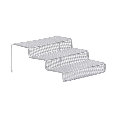 3-tier Silver Mesh Shelf