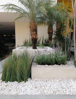 Jardín de vestíbulo.