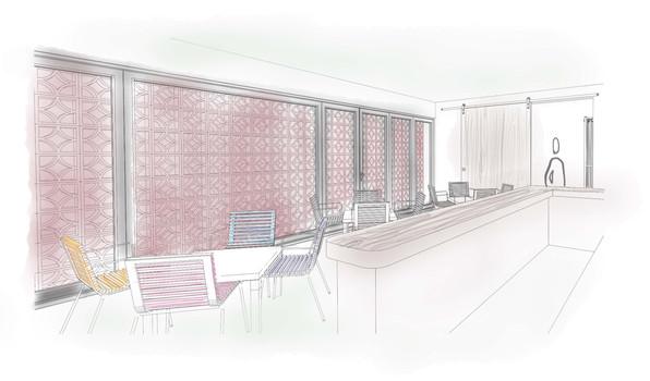 Cafetería sketch