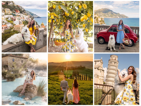 🇮🇹 The most beautiful places in Italy | Die schönsten Fotospots in Italien