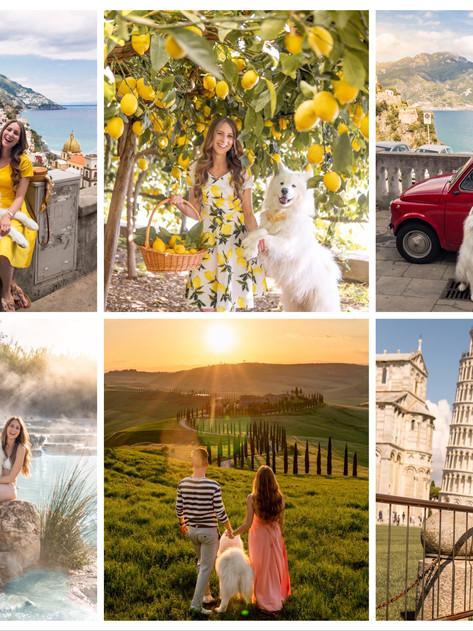 🇮🇹 The most beautiful places in Italy   Die schönsten Fotospots in Italien