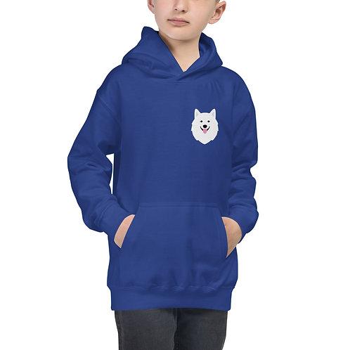 """""""Mini Samoyed"""" hoodie for kids"""
