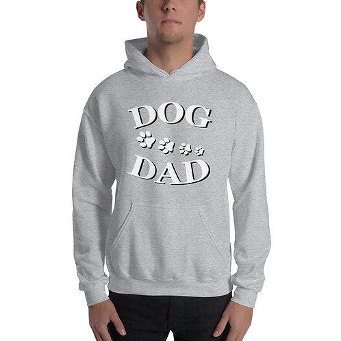 """""""Dog Dad"""" Hoodie für Männer"""