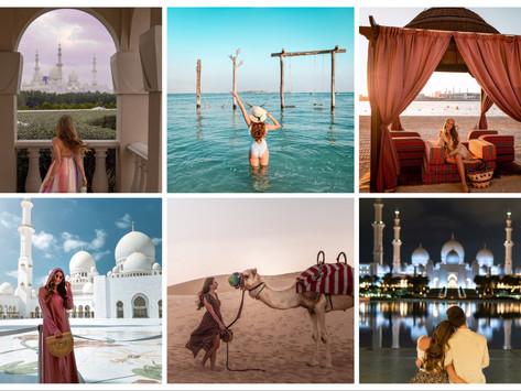 🇦🇪 The most beautiful places in Abu Dhabi | Die schönsten Orte in Abu Dhabi
