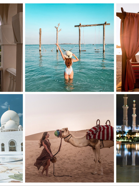 🇦🇪 The most beautiful places in Abu Dhabi   Die schönsten Orte in Abu Dhabi