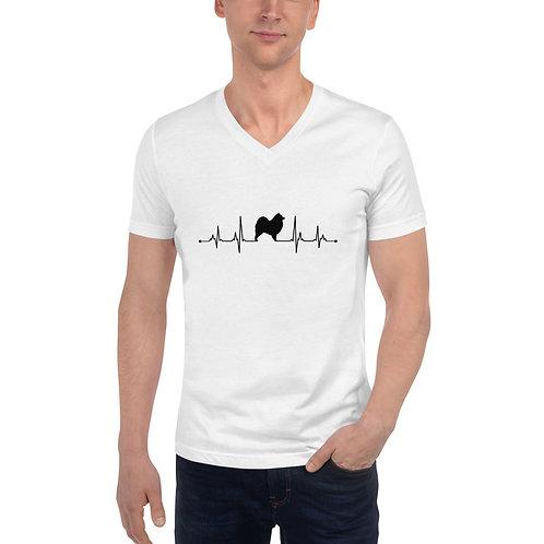 """Puls"" V-Neck T-Shirt for men"