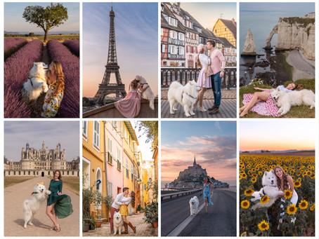 🇫🇷 The most beautiful places in France | Die schönsten Orte Frankreichs