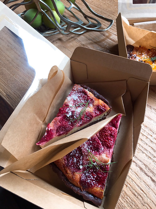 オーガニック完熟苺のタルト2ピースセット