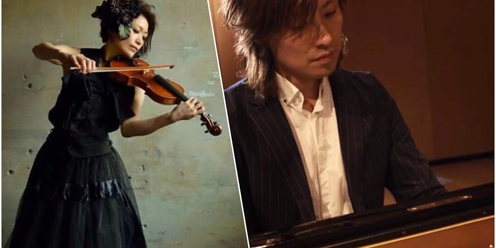 HAKUEI KIM & 会田桃子 Duo Concert