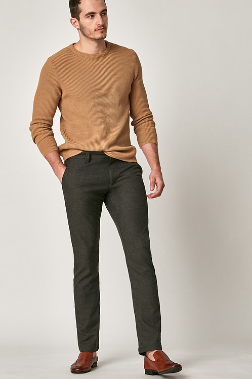 Johnny Slim Chino Pants in Brown