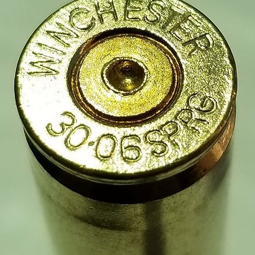 Once fired 30-06 Brass