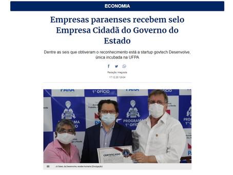 Empresas paraenses recebem selo Empresa Cidadã do Governo do Estado