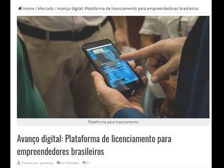 Avanço digital: Plataforma de licenciamento para empreendedores brasileiros