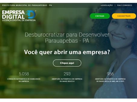 A Desenvolve implantou plataforma digital que aumentou em 27,5% as receitas próprias de Parauapebas