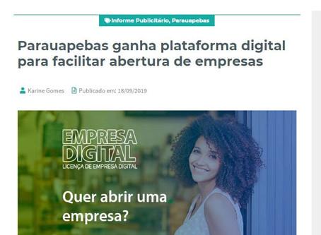Parauapebas ganha plataforma digital para facilitar abertura de empresas