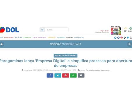 Paragominas lança 'Empresa Digital' e simplifica processo para abertura de empresas