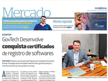 GovTech Desenvolve conquista certificados de registro de softwares