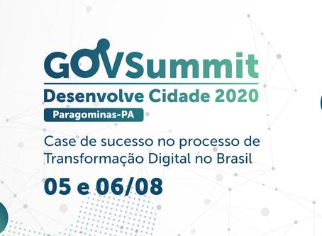 Webinários e Lives do GovSummit Desenvolve Cidade 2020 Paragominas estão com inscrições abertas