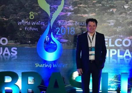 A Desenvolve participa do fórum mundial da água