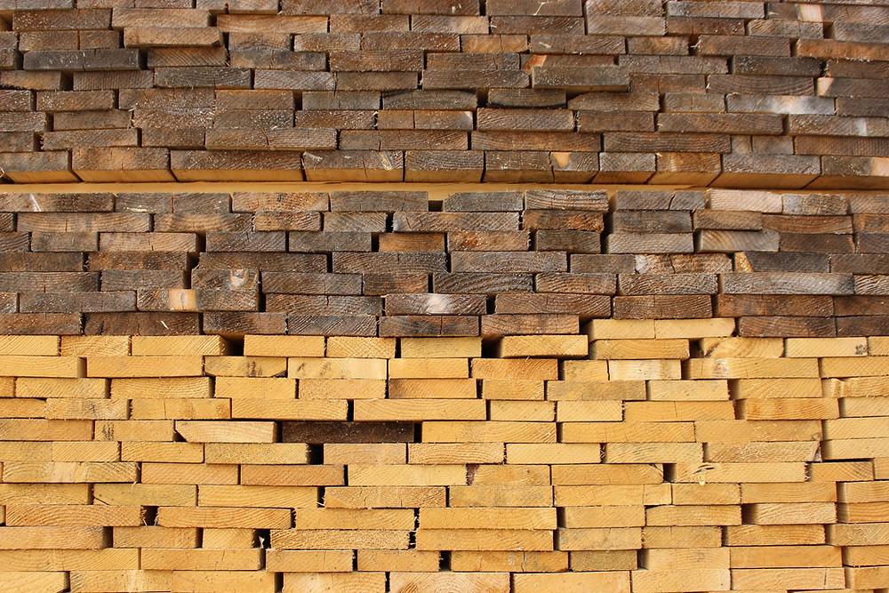 Il legno tra fine 2020 e giugno 2021 ha subito una forte impennata dei prezzi