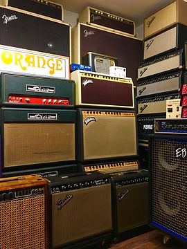 The Guitar Lounge Amp Room