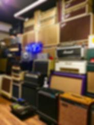 The Guitar Lounge Tokyo Amp Room