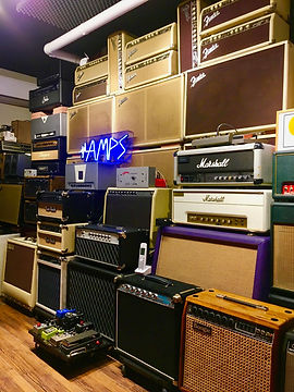 The Guitar Lounge Tokyo Amp Room