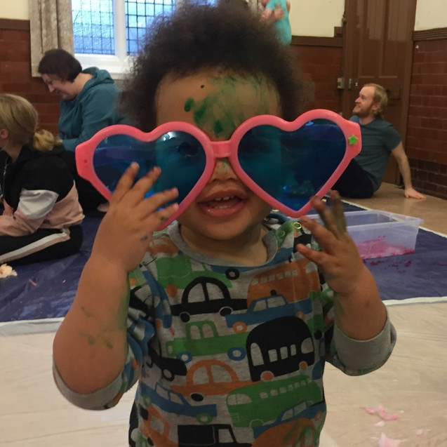 Messy Play Party
