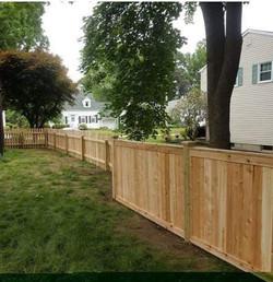 Good neighbor fence