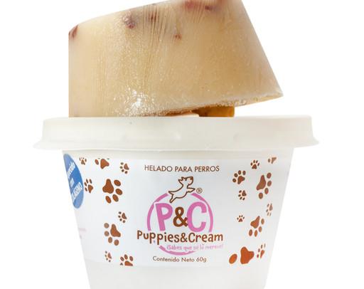 helado para perro mediano o grande manza