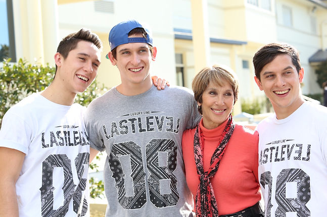 Andrew, Richie, Josh, Jacqui Cesan